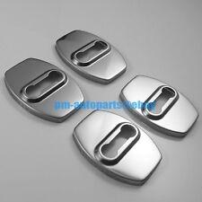 4pcs PM Anti-rust 304 Steel Door Lock Cover Trim Kit New for Lexus IS GS LS RX