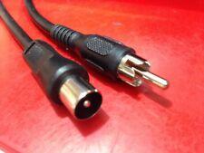 Antena de TV Cable RF Lead 2 M Sega Megadrive/Master sistema/Nintendo NES/SNES