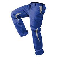 Bundhose/Arbeitshose Image-Dress New Design Form Blau/Mittelgrau Größen: 25-118