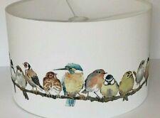 "12""/30cm Lamp/ Ceiling Shade  With Laura Ashley Garden Birds Fabric"