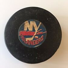 Rare 1972-77 NHL New York Islanders Converse Rubber Crested Game Puck