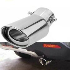 Car Auto Exhaust Pipe Tip Tail Muffler Stainless Steel Replacement Accessories