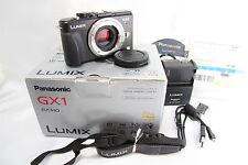 Used Panasonic LUMIX DMC-GX1 Digital Camera - Black (Body Only) #22 s7