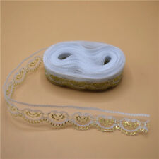 10 Yards Lace Ribbon 22mm Wide for sewing DIY Embroidered clothing Wedding Decor