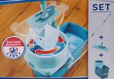 LEIFHEIT Wischmop Bodenwischer Spin 360° Mopp Reinigungssystem Reiniger Set Mop