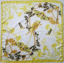 LALIQUE  foulard Tour de cou    en TBEG vintage et authentique  49 x 51 cm