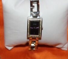 Woman's Guess Watch with Crystals and Purple Dial G75469L F93