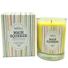 Bella J Main Squeeze Scented Candle with Surprise Jewel Inside