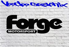 Forge Motorsport Sticker Car DECAL FORD AUDI JDM BMW Vinyl Sponsor