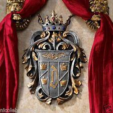 Vlad the Impaler Count Dracula Vampire Regal Crown Coat of Arms Wall Decor