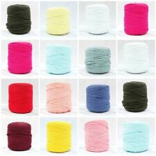 Spaghetti Cotton Recycled T-Shirt Yarn Chunky Jersey Yarn Crochet Knitting-700g