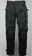 Bane Dark Knight Rises Combat Military Green/Gray Cotton Pants Cosplay Costume