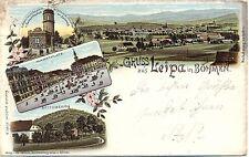 Leipa in Böhmen, Farb-Litho, 1902