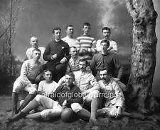 Photo.  1883 - 84.  University of Michigan Football Team