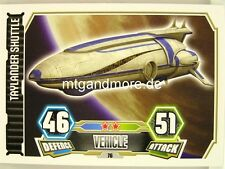 Taylander Shuttle  #076 - Force Attax Serie 3