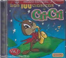 Las 100 Clasicas De Cri Cri  CD NEW Vol 1 NUEVO 2 CDs Con 50 Canciones SEALED