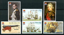 Kiribati 2005 MNH Battle of Trafalgar 200 6v Set I Ships Napoleon Nelson Stamps