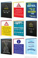 Brother Bro Birthday Greeting Cards Funny Comedy Humour Cheeky Rude Novelty Joke