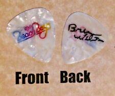 Beach Boys Band Logo Brian Wilson signature guitar pick -(W)