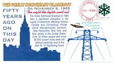COVERSCAPE computer designed 50th anniversary Great Northeast Blackout cover