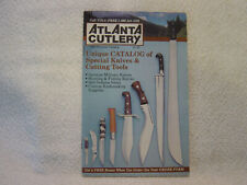 ATLANTA CUTLERY KNIVES CUTTING TOOLS c 1986 sales brochure