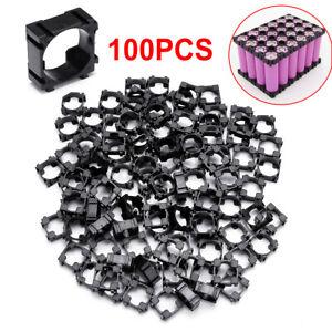 100PCS 18650 Lithium Battery Combine Holder Pack Li-ion Cell Plastic Bracket