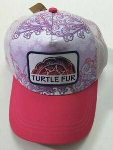Turtle Fur Drifter Trucker Hat Pink
