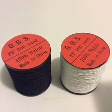 Two  Oboe Reed Thread in  black & white