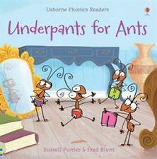 Usborne Book (new) Phonics Reader UNDERPANTS FOR ANTS