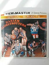 View-Master HARLEM GLOBETROTTERS H69 GAF Open Packet EXC