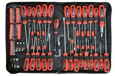 Rolson Tools 100 Pcs Screwdriver & Bit Set DIY Torx Ratchet Pouch Precision 28890