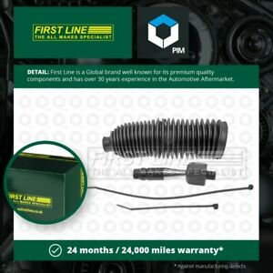 Inner Rack End fits AUDI A8 4D Left 2.8 3.7 4.2 94 to 02 Tie Rod Joint Firstline