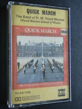 QUICK MARCH - THE BAND OF H. M. ROYAL MARINES CASSETTE