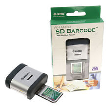PRETEC SD Card Barcode Scanner - Mobile Laser Reader SDIO Class 2 - Brand New