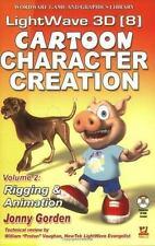 NEW - Lightwave 3D  8 Cartoon Character Creation: Volume 2 Rigging  &  Animation