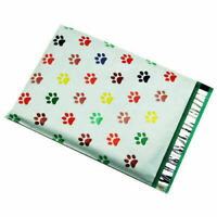 500 6x9 Puppy Paws Designer Poly Mailers Envelopes Boutique Custom Bags