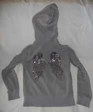 Victoria's Secret VS Supermodel Essentials embroidered angel wings hoodie sz M
