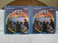 CED VideoDisc Superman II Part 1 & 2, Warner Home Video, Collectible