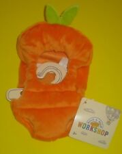 Build-A-Bear Buddies Orange Carrot Costume Outfit Smallfrys Easter