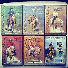 """6 Dvds: Julie Goodnight in """"Principles of Riding"""" and """"Trail Solutions"""""""