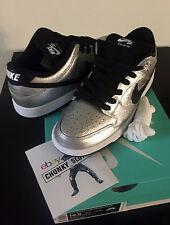 Nike SB Dunk Low Premium Cold Pizza Silver Black sz 10.5 RARE I XI IV V VI