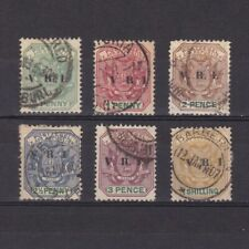TRANSVAAL SOUTH AFRICA 1900, SG# 226-233, CV £20, part set, Used