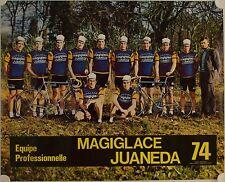 Affiche Tour de France 1974 EQUIPE MAGIGLACE JUANEDA