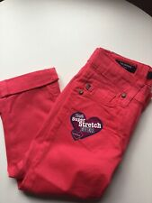 Vigoss Girls Pink Capri Jeans Size 12 New With Tags