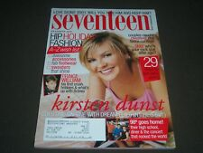 2000 DECEMBER SEVENTEEN MAGAZINE - KIRSTEN DUNST - FRONT COVER - O 7545