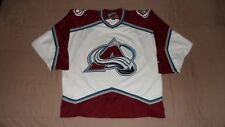 Colorado Avalanche White Pro Player Men's Size XL Official NHL Hockey Jersey