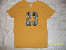 ABERCROMBIE 23 #23 (JORDAN ?)YELLOW SHIRT SIZE LARGE CUTE MUST SEE