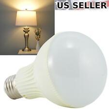 10-Pack 110V 9W LED A19 Light Bulb 60W Equivalent Warm White 2800K 800lm E26 10X