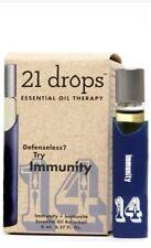 21 Drops 14 Immunity Essential Oil, Rollerball 0.25 oz (8 ml)