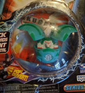 Bakugan 2007 Battle Brawlers Series 1 Sealed Turquoise Marble Ball Booster Pack